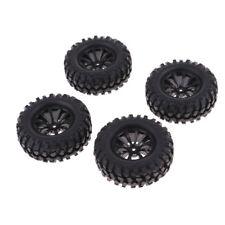 """Pneus en caoutchouc de 96mm pneus 1.9 """"roues pour 1/10 RC Crawler Monster"""