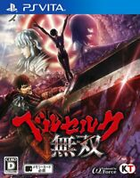 Berserk Warriors PS Vita Koei Tecmo Sony PlayStation Vita From Japan