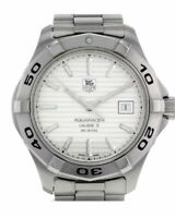 TAG Heuer Aquaracer Stainless  Steel Mens Used  Watch Ref. WAF2111