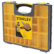 STANLEY Small Parts Organizer Portable Tool Box 25 Compartment Tool Storage NEW