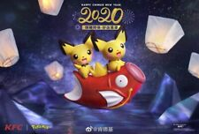 2020 Pokemon Pikachu KFC New Year Happy Meal Toys Completed Set 4 PCS NIP