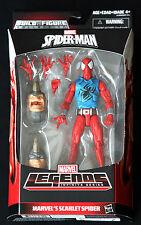 "SCARLET SPIDER MARVEL LEGENDS INFINITE SERIES SPIDER-MAN HASBRO 6"" ACTION FIGURE"