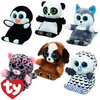 TY PEEK A BOO TABLET HOLDER BUDDY PLUSH  WITH SCREEN WIPE - 4 TO CHOOSE FROM
