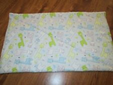 New - Small Giraffe Print Handmade Quilted Baby Changing Pad, Bassinet Liner