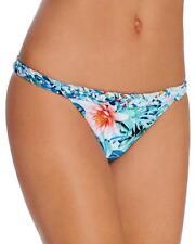 NWT 6 Shore Road by Pooja Blanca Multi Palm Print Bikini Swimsuits Bottom Large