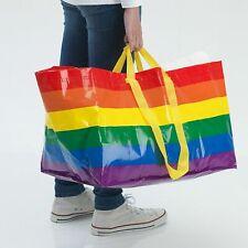 IKEA STORSTOMMA Large Rainbow Reusable Shopping Bag Recycle LGBT Frakta KVANTING