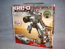 Prowl Military Strategist KRE-O 30690Transformers Kreons Swat Hasbro 174 pcs New