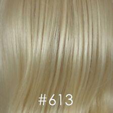 Dark Brown Straight  Wig w/Center Parting & No Bangs