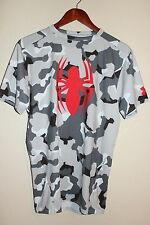 Under Armour Alter Ego Spiderman Marvel Short Sleeve Compression T-Shirt Camo XL