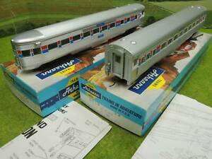 Athearn H0 US Observation Car + Personenwagen 5223 mit OVP  (WH) A0794
