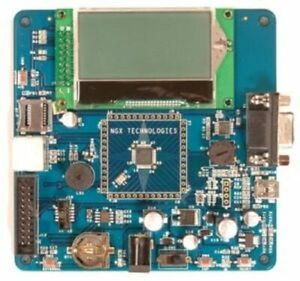LPC1114 ARM Cortex-M0 Board, 68x128 LCD, USB, RS232, PS/2