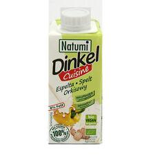(0,65/100ml) Natumi Dinkel Cuisine 8% Fett Drink vegan laktosefrei bio 200 ml