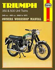 Haynes Manual 0137 - Triumph 350 & 500 Unit Twins (58 - 73)