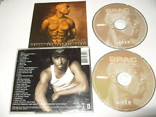 2Pac - 2 Pac Until the End of Time (Parental Advisory, 2001) 2 cd ex condition