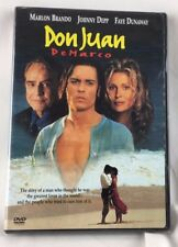 New Sealed DON JUAN DE MARCO Johnny Depp Romantic Fable DVD