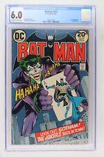 Batman #251 - DC 1973 CGC 6.0 Joker Appearance. Classic cover.
