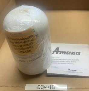 AMANA WF40 Clean N Clear Refrigerator Replacement Cartridge Water Filter