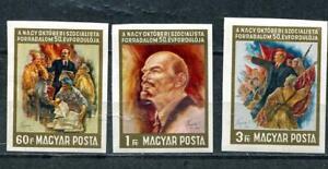 Hungary 1967 Sc 1858-0 Lenin as teacher Art Used/CTO Imperf 10181
