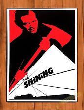 Tin-Ups Tin Sign Vintage Retro The Shining Movie Ride Art Poster Jack Nicholson