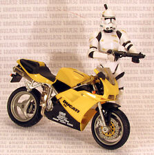 "1/16 scale DUCATI 916 MOTORCYCLE for 3.75"" Action Figure Star Wars/GI JOE"