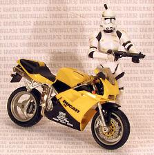 "1/16 1/18 scale HOT WHEELS MOTO DUCATI 916 3.75"" Action Figure Star Wars/GI JOE"