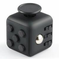 Fidget Cube Jeux Jouet Gadget Anti-stress pour Enfants et Adultes Couleur : NOIR