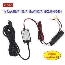 Original Dash Camera Hard Wire A119 A119S A118 A118C A118C2 0801 Kit Vehicle V7