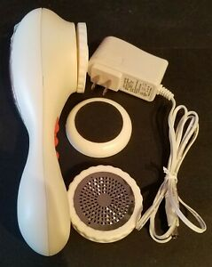 Foot Exfoliator Pedicure Tool Kit White Electric Stainless Steel Blade Emery
