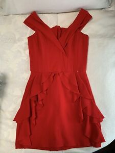 Ladies Red Lou Dress Size Small