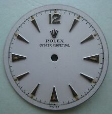 GENUINE VINTAGE ROLEX OP BUBBLEBACK CREAMY WHITE DIAL dia 23.26 mm VERY RARE!!!