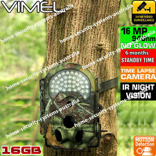 House Security Camera Trail Scout Hunting 16GB Wireless Smart cam Night Vision