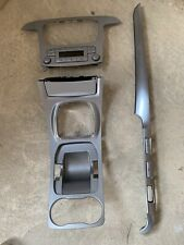 Ford S-Max / Galaxy Centre Dash Trim Surround 2006-2014 Silver Climate Control