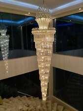 Crystal Chandelier Pendant Lamp Ceiling Lighting Interior Hanging Light Fixtures