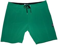 Volcom Men's Ex Zess Cinch Fly Boardshorts Swim Trunk Bottle Green Size 40 New