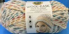 Lion Brand Yarn 640-610 Wool-Ease Thick & Quick, Hudson Bay