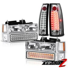 Chevrolet C1500 C2500 C3500 Suburban Silverado New LED Bulb Tail Light+Headlight