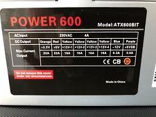 600w power supply 12cm ATX