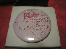 Cool Panhandle Performance and Muscle Car Club Pin Badge