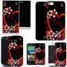 Motif case cover for All popular Mobile Phones  - red alluring heart