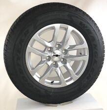 """New Takeoff 2019 Chevy Silverado Tahoe 18"""" Wheels Rims Goodyear Tires TPMS LUGS"""