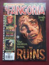 Fangoria Magazine #272 2008, The Ruins, Hellboy II, Prom Night, Horror #B1470