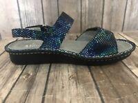 Alegria Verona VER-388 Women EU 39 US 8.5 Blue  Sandal B2