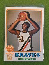 Bob McAdoo Rookie Basketball Card 1973-74 Topps #135 NBA RC Set Break ABA