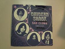 "CHICKEN SHACK:Sad Clown(Instr.)2:40-Tired Eyes 2:03-France 7"" Blue Horizon PSL"