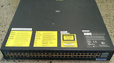 Cisco Catalyst (WSC2948G) 48-Ports Rack Mountable Switch Managed