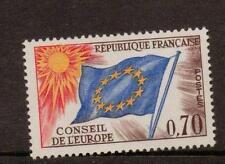 La Francia sgc15 1963 70c del consiglio d'Europa Gomma integra, non linguellato