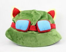 TEEMO HAT Cap League of Legends LOL plush plushie headwear free shipping