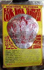 Jimi Hendrix, Led Zeppelin, Santana | Folk Rock Festival | Orig. 1969 Handbill