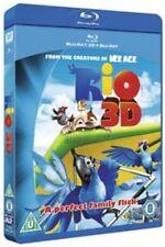 Rio (Blu-ray 3D + Blu-ray) [Blu-ray] [2011] New & Sealed