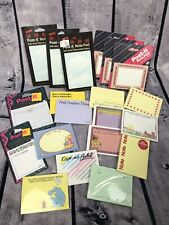 20 Vintage Post It Lot Sealed And New Sticky Notes Note Pad H1